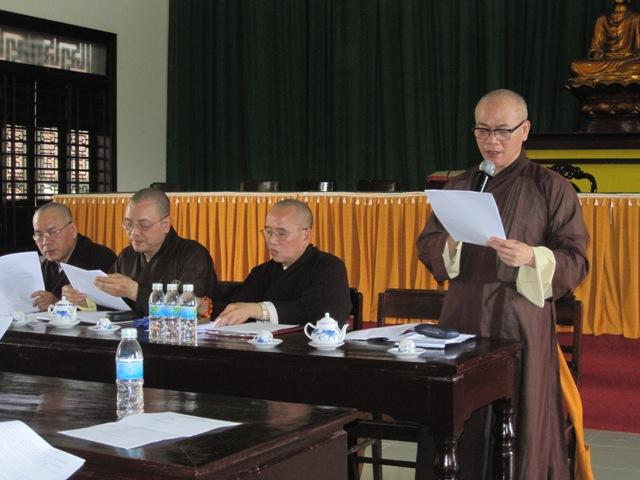 TT. Huế: Họp Chuẩn Bị Hội Thảo Ban Hướng Dẫn Phật Tử và Gia Đình Phật Tử TT. Huế