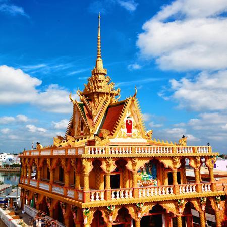 Khánh thành ngôi chánh điện Khmer đẹp nhất ĐBSCL